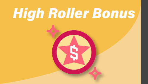 High Roller Bonus Kasino