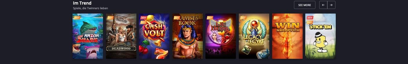 Twin Casino Spiele