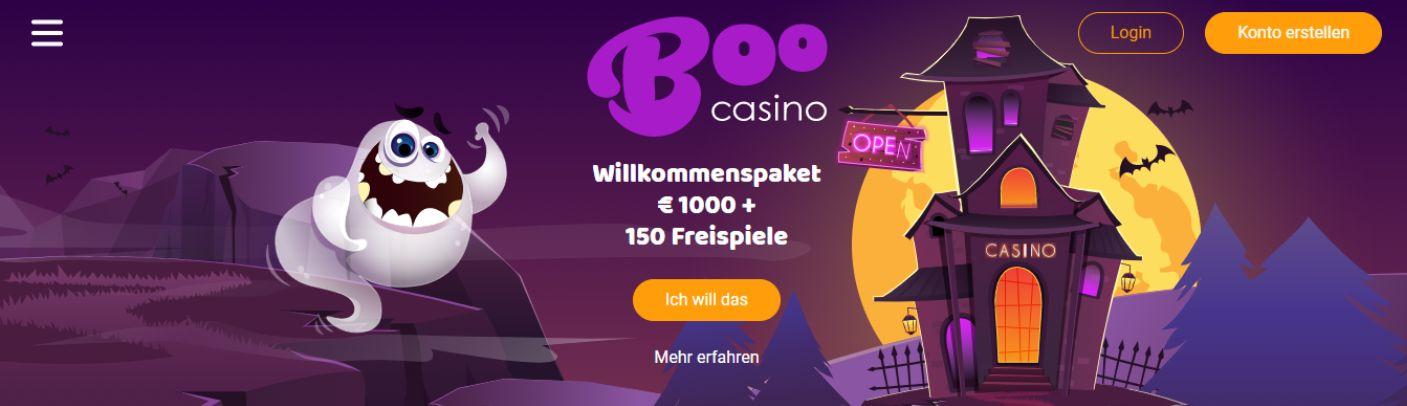 Boo Casino Bonus