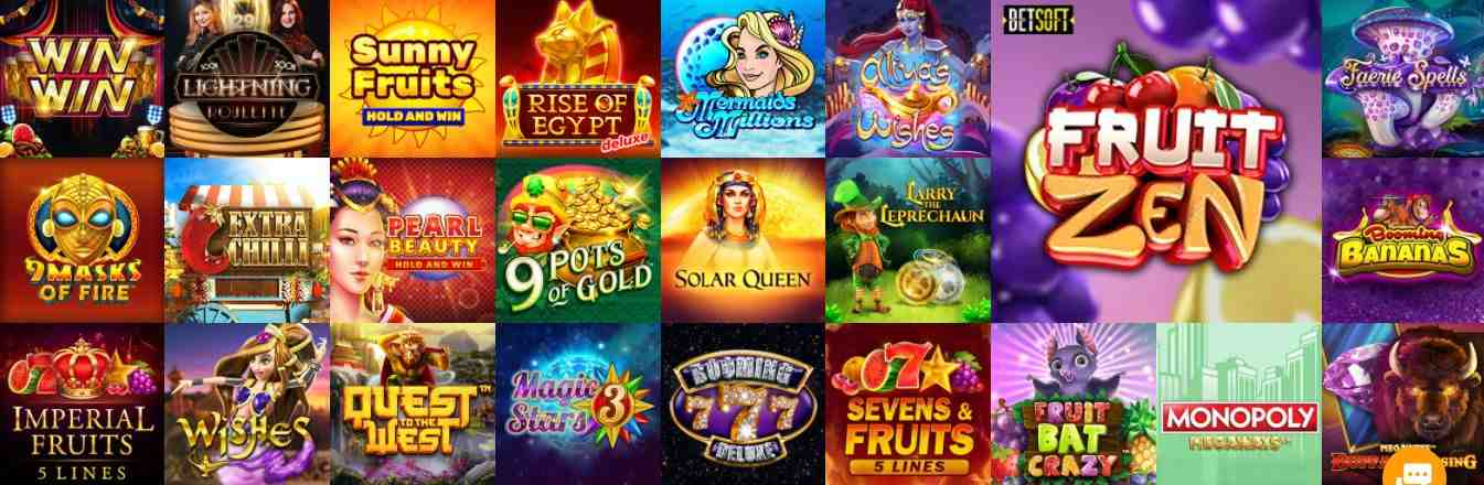 Boo Casino Spiele