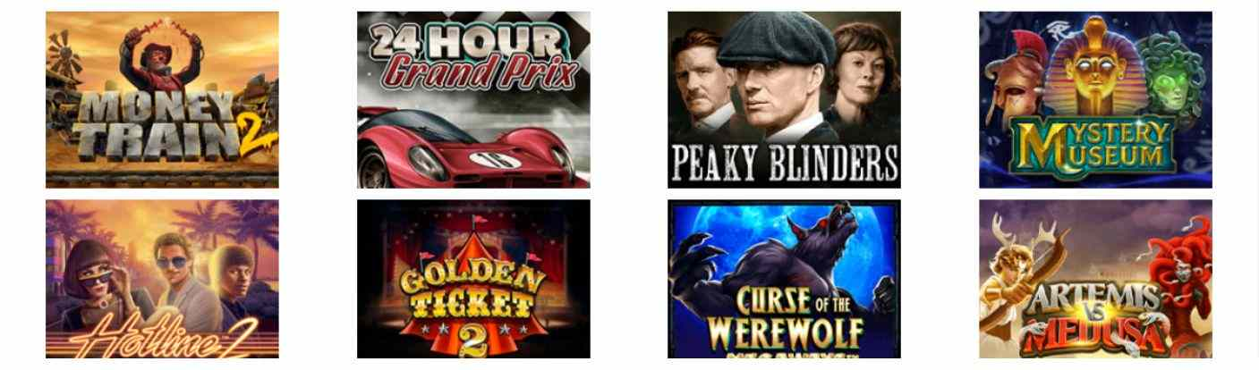 Evolve Casino Spiele