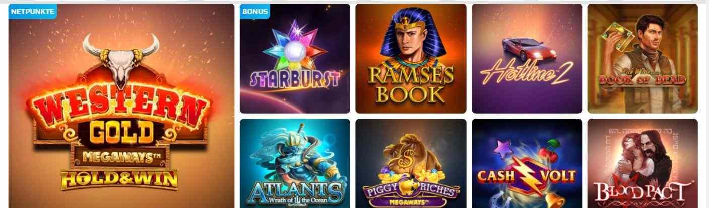 NetBet Spiele